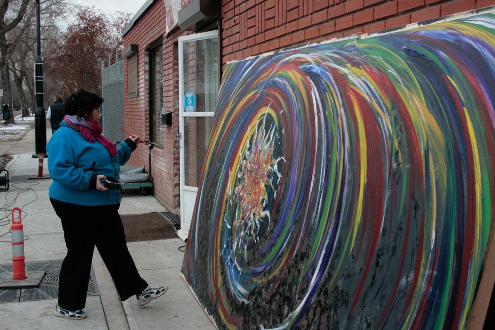 Artist Lori Anne Youngman