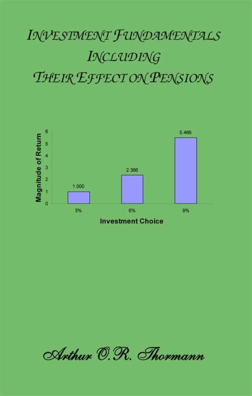 The front cover of Investment Fundamentals and their Effect on Pensions