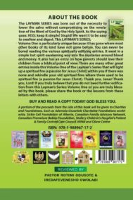 Layman's Series- Vol 1 by Ademola and Christiana Usuanlele Back Cover