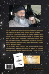 Back Cover of My Perfect World by Adam Wiseman