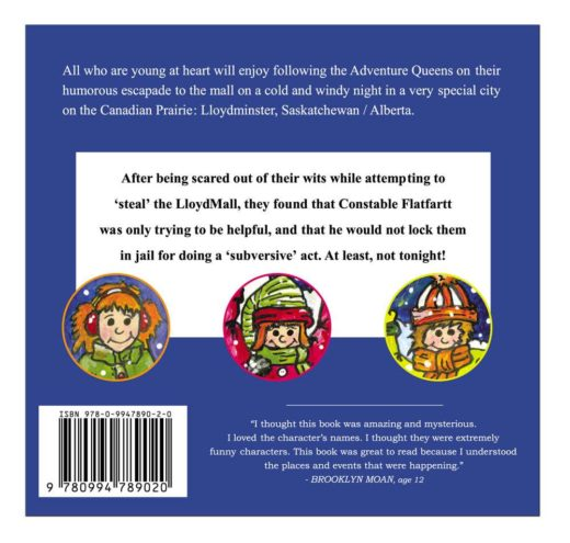 adventure queens by ted haas back cover