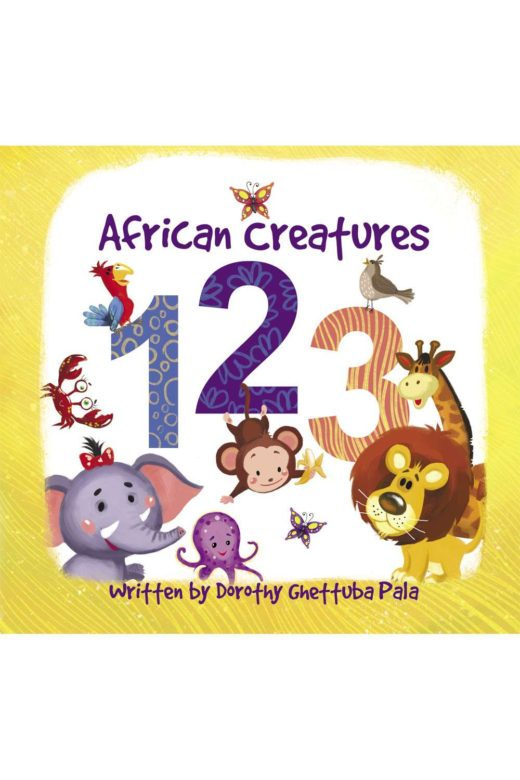 african creatures 123 by asili kids full cover