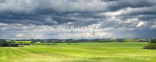 Grey Skies over Green Fields by Bruce Deacon on PageMaster Publishing