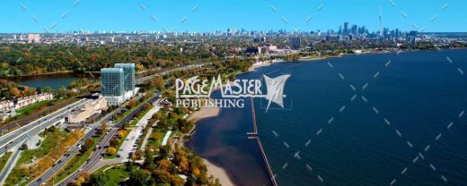 Toronto in Autumn by Bruce Deacon on PageMaster Publishing