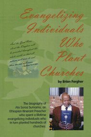 Evangelizing individuals who plant churches by Brian Fargher - front cover