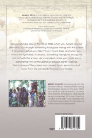 Back Cover of Heart of Africa by Bernie Gilmore