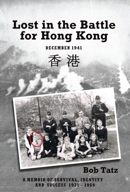Lost in the Battle for Hong Kong by Bob Tatz Front Cover