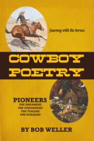 front cover of cowboy poetry by bob weller