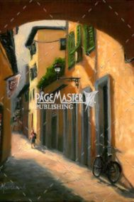 Street Of Gold - Walkways In Florence by Catherine Marchand on PageMaster Publishing