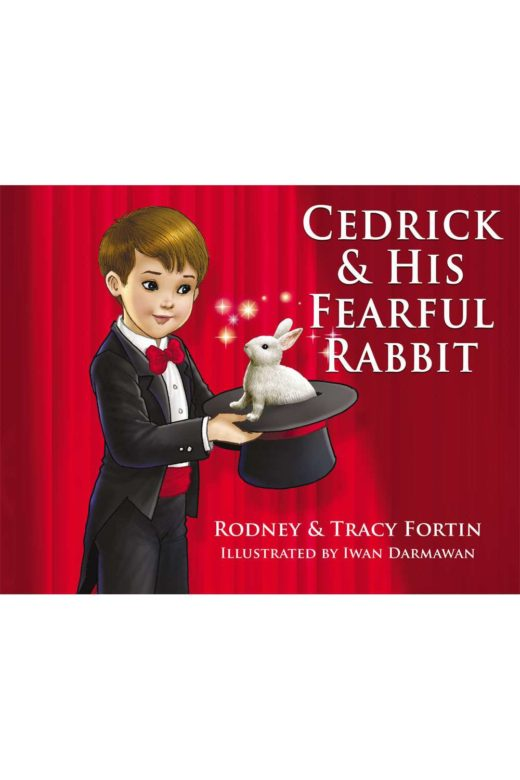 cedrick & his fearful rabbit by rodney fortin