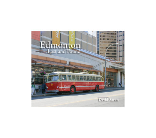 front full web cover of edmonton: lost and found by david aaron