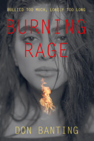 Burning Rage Front Cover by Don Banting