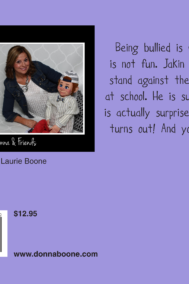 Jakin Stands Up to The Bully by Donna Boone Back Cover