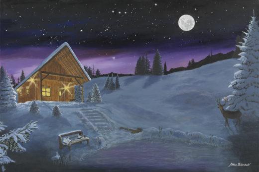 Magenta and Moonlight by Ettina Fedorchuk on PageMaster Publishing