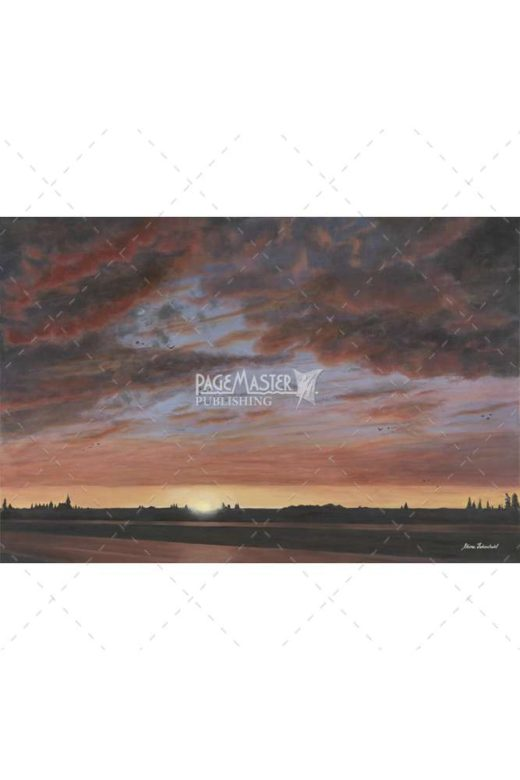 painting of suns glory by ettina fedorchuk
