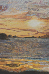 Cool Night Sunset by Elaine Tsuruda on PageMaster Publishing