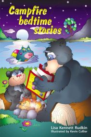 front cover of campfire bedtime stories by Lisa Rudkin