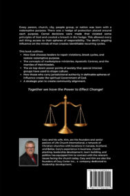 Back Cover of The Power to Effect Change by Gary Carter