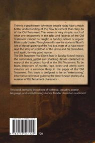 Glenn Gray Old Testament Stories Back Cover