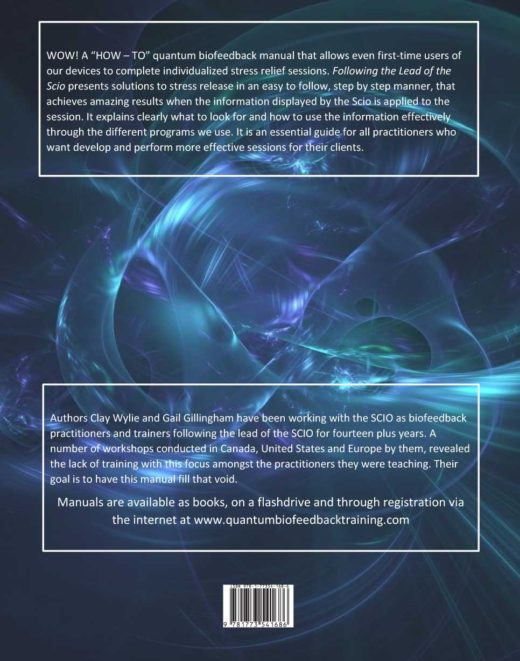 Following the Lead of the Scio by Gail Gillingham and Clay Wylie Back Cover