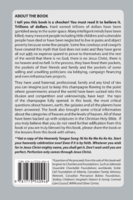 Principle of Heaven, Earth and the Galaxy by Ademola Usuanlele Back Cover