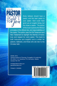 Back Cover of Your Pastor is a Gift to You by Dr. T.B. Neil
