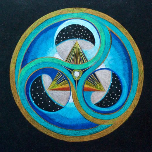 Cosmic Triangle by Heide Muller-Haas on PageMaster Publishing