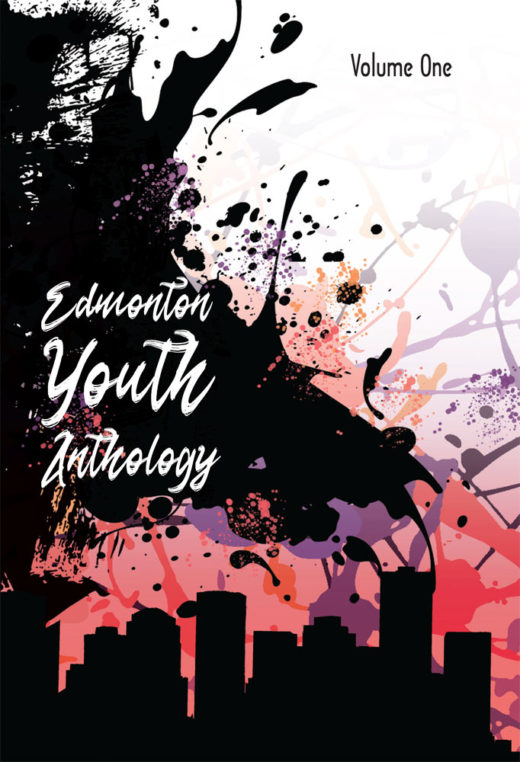 front cover of edmonton youth anthology by ink movement