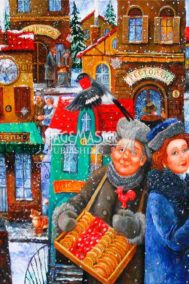 Seven Snowflakes Over My Town by Igor Postash on PageMaster Publishing