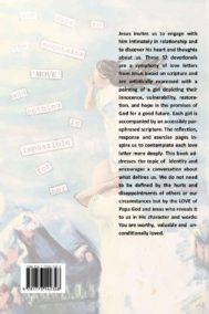 Back Cover of Identity Defined by Love by Jenny McConnell