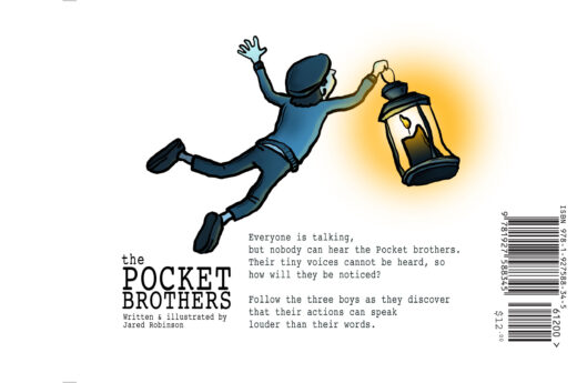Pocket Brothers by Jared Robinson back cover