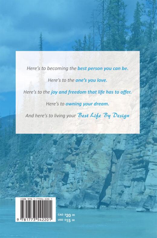 back cover of best life by design by jeffrey sakundiak
