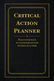 front cover of critical action planner by jesse tychkowsky