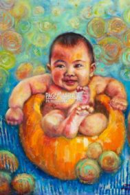 Pumpkin Baby by Jun Toyama on PageMaster Publishing