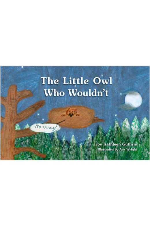 The Little Owl Who Wouldn't by Kathleen Guthrie