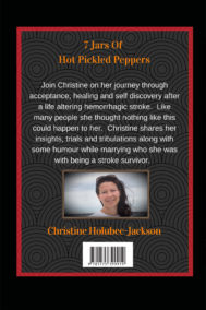 Back Cover of 7 Jars of Hot Pickled Peppers by Christine Jackson