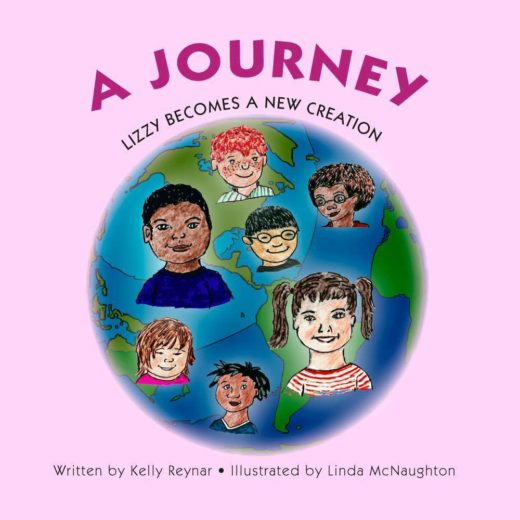 The front cover of Lizzy Becomes a New Creation, by Kelly Reynar