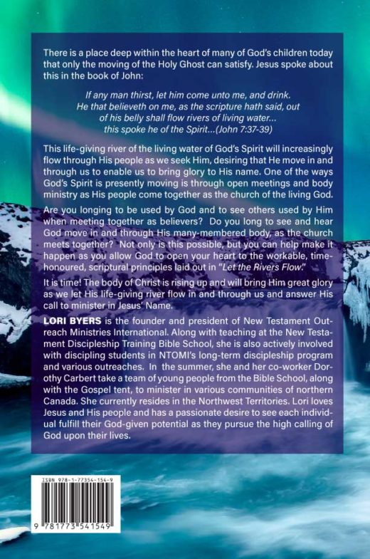 Let The Rivers Flow by Lori Byers Back Cover