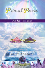 Primal Power: Out of the Blue front Cover by Linn Frances