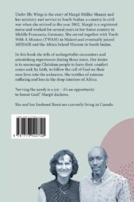 Back Cover of Under His Wings by Margit Müller