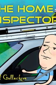 "The front cover of ""The Home Inspector"" by Paul Gullackson"