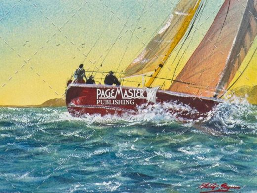 Heading Home (Sailing) by Phil Gagnon on PageMaster Publishing
