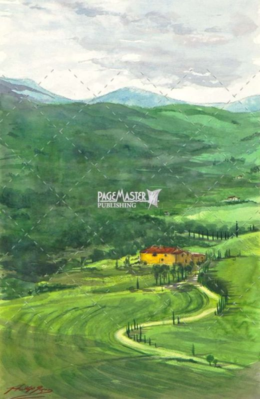 Tuscany Road by Phil Gagnon on PageMaster Publishing