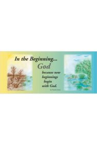 In the Beginning... God by Pamela Jones