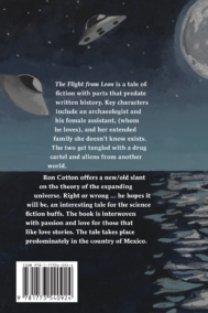R.D. Cotton The Flight from Leon Back Cover