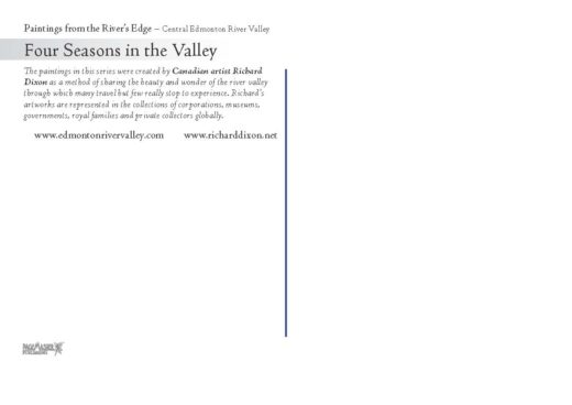 four seasons in the valley by richard dixon back card