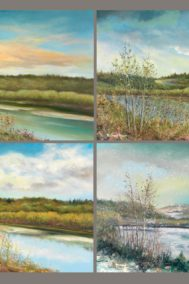 four seasons in the valley by richard dixon front card