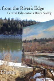 front cover of paintings from the river's edge by richard dixon