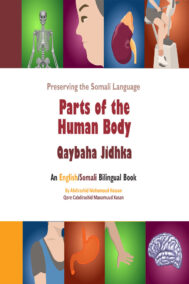 front cover of parts of the human body (qaybaha jidhka by abdirashid hassan