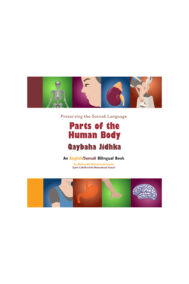 Full Front Cover of Parts of the Human Body (Qaybaha Jidhka) by Abdirashid Hassan